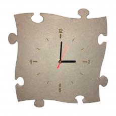 Dachsteinpuzzle Uhr